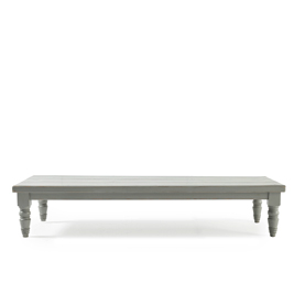 vintage coffee table gray