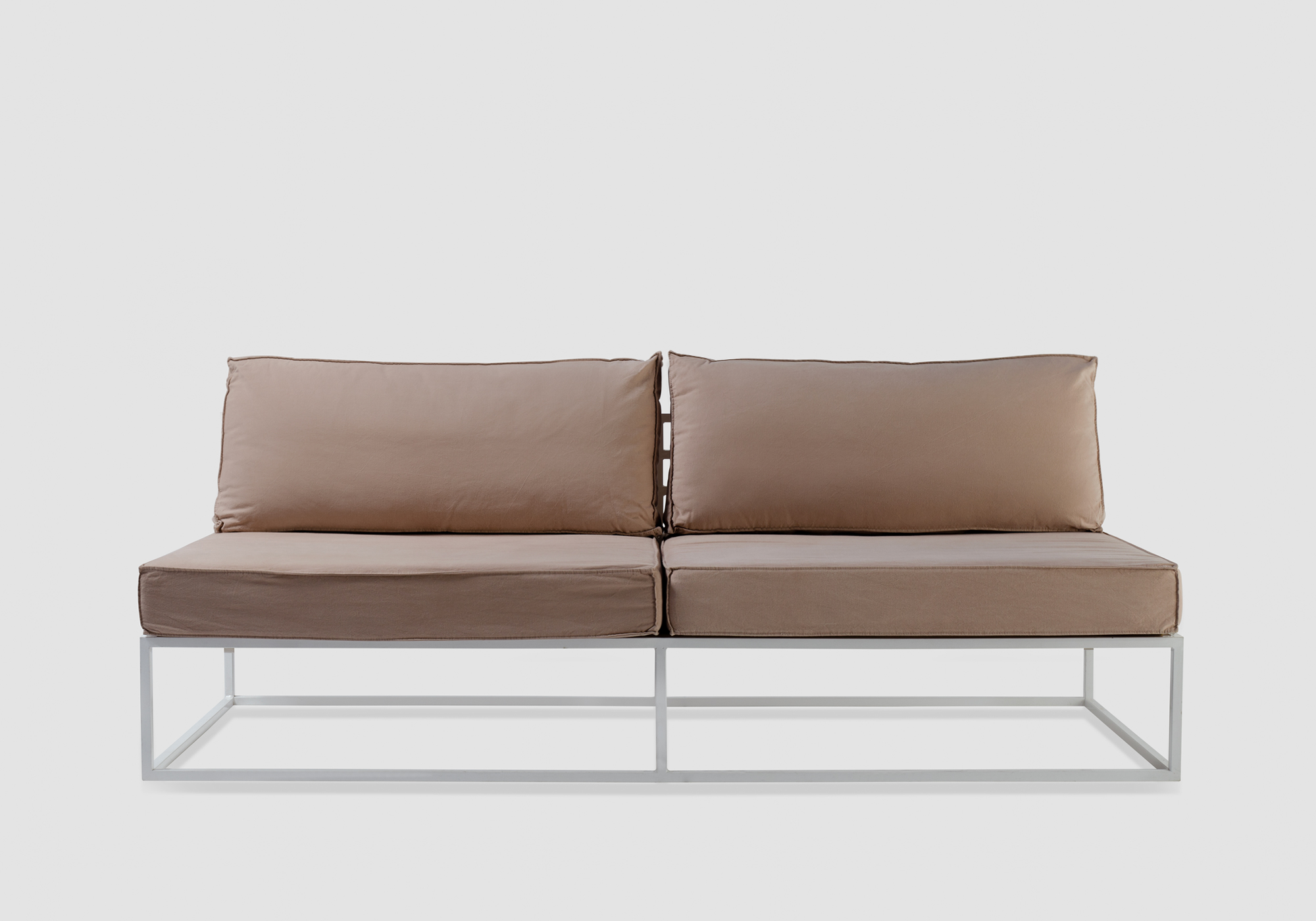 ... /Soho Sofa With Beige Pillows/