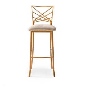 Wilson Bar Stool Black Velvet